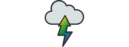 cloud icon centered